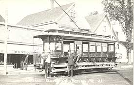 Somerset Traction Co Trolley